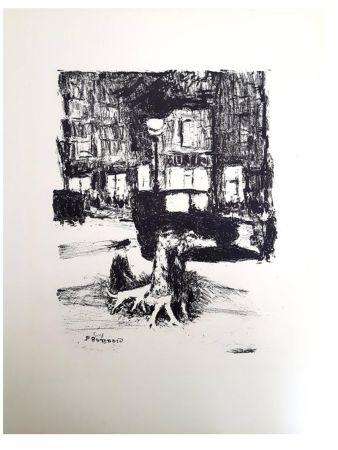 Литография Bonnard - La Rue