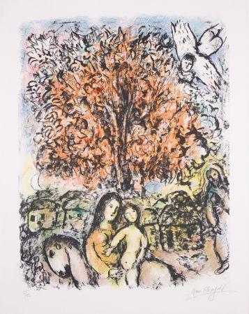 Литография Chagall - La Sainte Famille