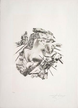 Литография Dali - La Scultura