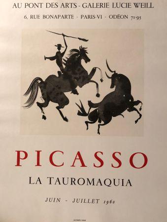 Афиша Picasso - La Tauromaquia - Au Pont Des Arts - Galerie Lucie Weil, Paris Juin - Juillet 1960