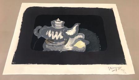 Литография Braque - La Théière Grise