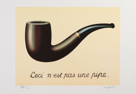 Литография Magritte - La Trahison des Images
