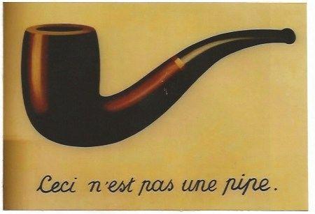 Литография Magritte - La trahison des images (Ceci n'est pas une pipe)