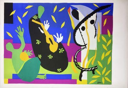 Литография Matisse - LA TRISTESSE DU ROI. Lithographie sur Arches 1952 (tirage original édité par Tériade)