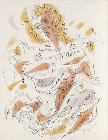 Литография Masson - La Venitienne from Je Reve Portfolio