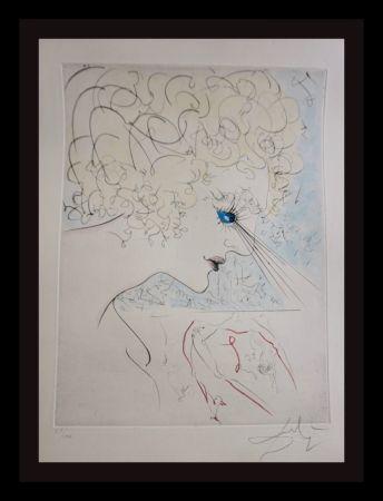 Гравюра Dali - La Venus Aux Fourrures The Head