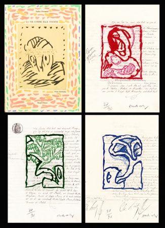 Иллюстрированная Книга Alechinsky - La vie comme elle tourne