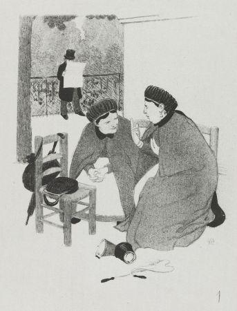 Литография Hermann-Paul - LA VIE DE MADAME QUELCONQUE en dix tableaux lithographiés par HERMANN-PAUL