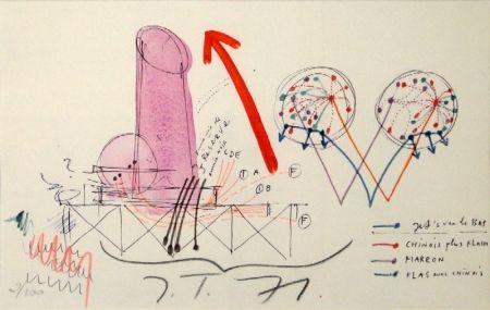 Литография Tinguely - La Vittoria.