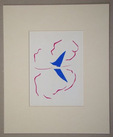 Литография Matisse (After) - La voile - 1952