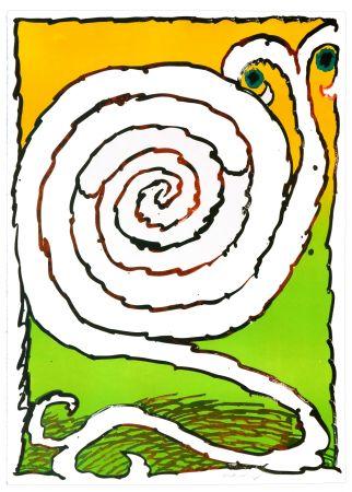 Литография Alechinsky - Labyrinthe d'Apparat I
