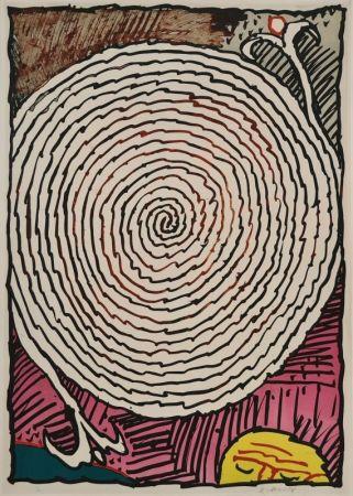 Литография Alechinsky - Labyrinthe d'apparat IV