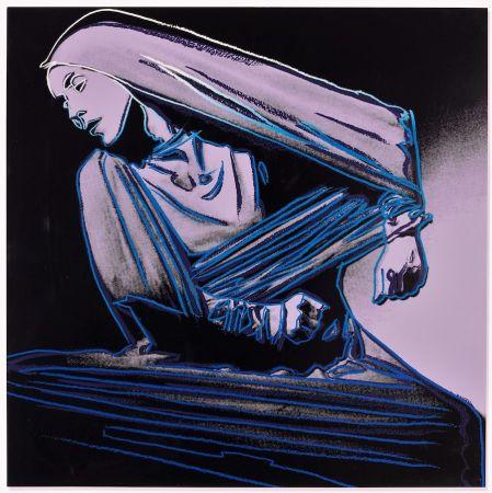 Литография Warhol - Lamentation