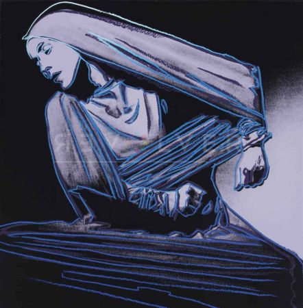 Сериграфия Warhol - Lamentation (Fs Ii.388)