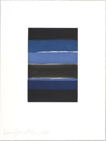 Акватинта Scully - Landline (blue)