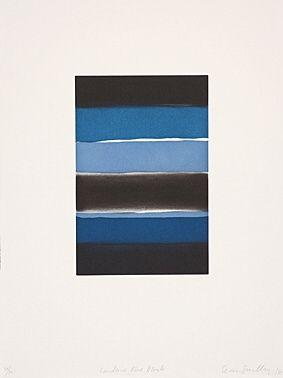 Офорт И Аквитанта Scully - Landline Blue Black