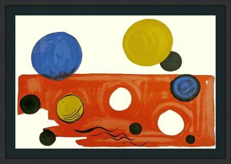 Литография Calder - LANDSCAPE