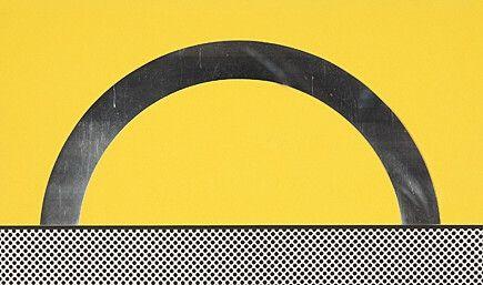 Сериграфия Lichtenstein - Landscape 7