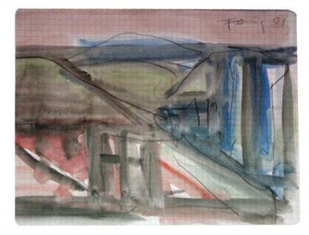 Многоэкземплярное Произведение Forg - Landscape with Roofs