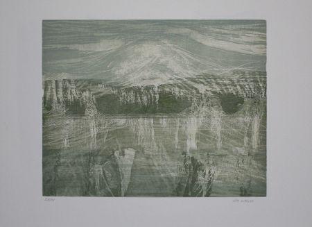 Гравюра На Дереве Wolf - Landschaft