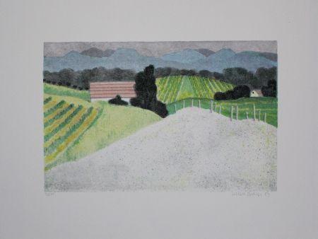 Литография Breiter - Landschaft / Landscape
