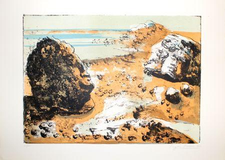 Литография Berman - Landschaft / Landscape