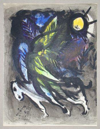 Литография Chagall - L'Ange