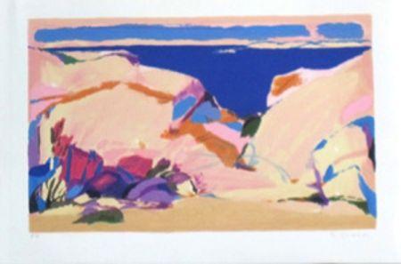 Литография Godard - Languedoc