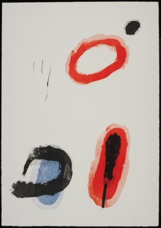 Литография Miró - L'anneau
