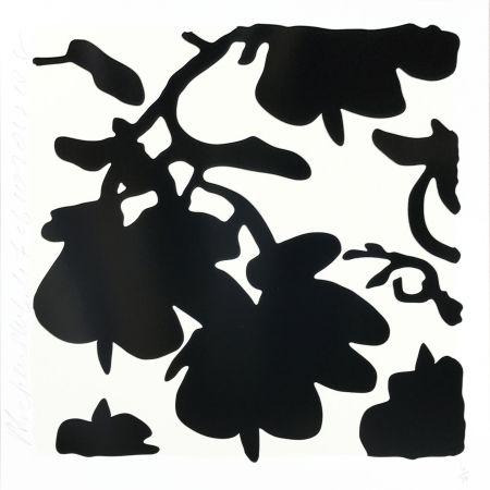 Сериграфия Sultan - Lantern Flowers (Black /white)