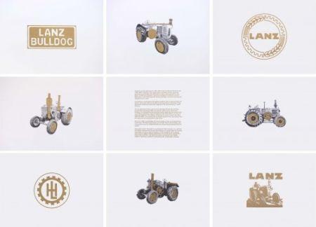 Литография Hamilton - Lanz Project