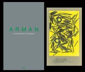 Иллюстрированная Книга Arman - L'art en écrit