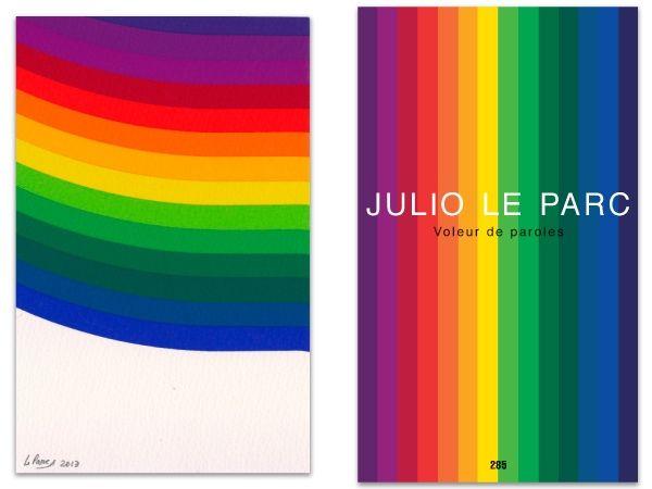 Иллюстрированная Книга Le Parc - L'art en écrit