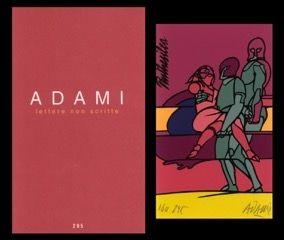 Иллюстрированная Книга Adami - L'art en écrit