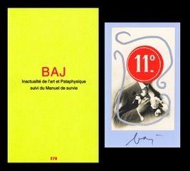 Иллюстрированная Книга Baj - L'art en écrit