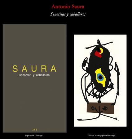 Иллюстрированная Книга Saura - L'Art en écrit