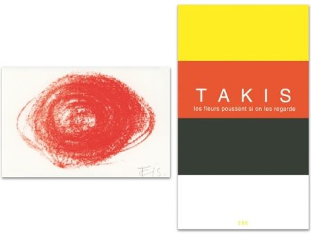Иллюстрированная Книга Takis - L'Art en écrit