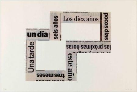 Литография Macchi - Las Horas