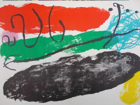 Литография Miró - L'astre De Patagon
