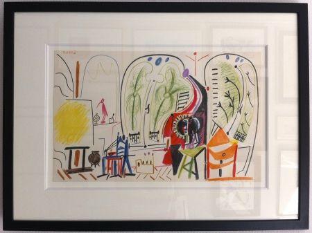 Литография Picasso - L'atelier de la Californie