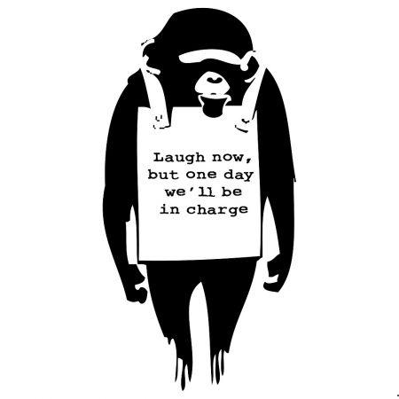 Сериграфия Banksy - Laugh Now