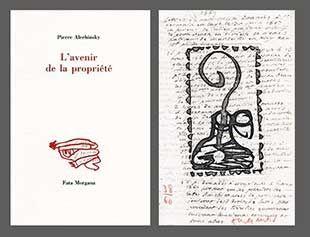 Иллюстрированная Книга Alechinsky - L'avenir De La Propriété
