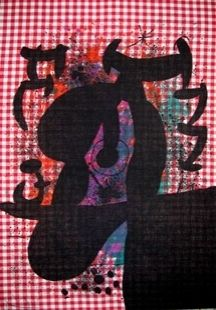 Литография Miró - Le Bagnard
