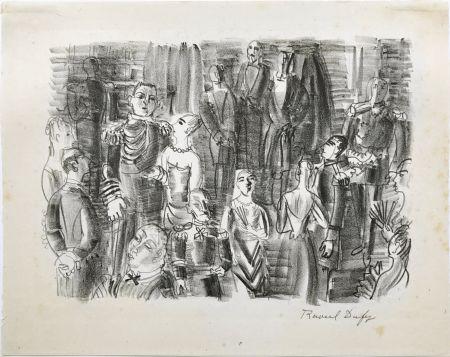 Литография Dufy - Le Bal chez L'Amiral