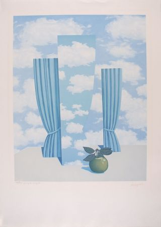 Литография Magritte - Le Beau Monde - The Beautiful World