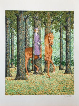 Литография Magritte - Le Blanc-Seing