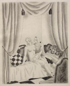 Иллюстрированная Книга Leroy  - Le bon plaisir, Le malheureux petit voyage, La belle sans chemise, Le Diable amoureux, La Fille aux yeux d'or, etc.