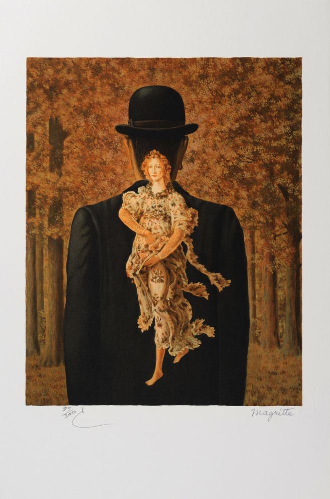 Литография Magritte - Le Bouquet