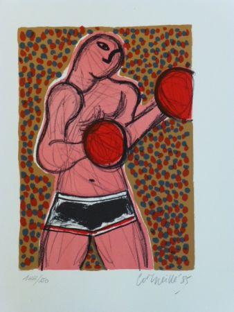 Литография Corneille - Le boxeur