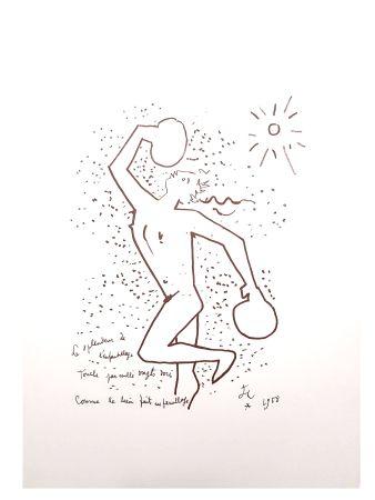 Литография Cocteau - Le Boxeur